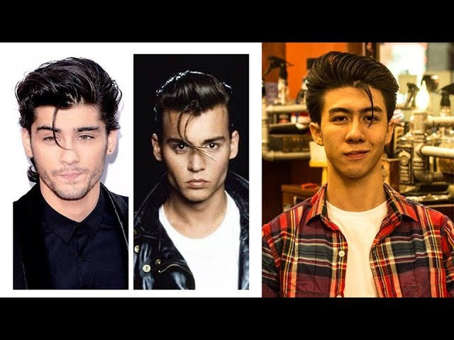 [LIEM BARBER SHOP'S COLLECTION] Johnny Depp Hair Style