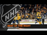 Preds win in OT, Faulk pots rare hatty and B's legends return