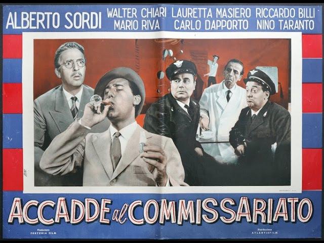 ''ALBERTO SORDI'' in 'Accadde al Commissariato' con Nino Taranto