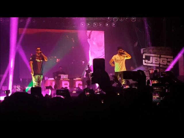 KOLLEGAH FARID BANG LIVE IN MÜNSTER JBG3 JUNG BRUTAL GUTAUSSEHEND 3 TOUR 06 01 2018