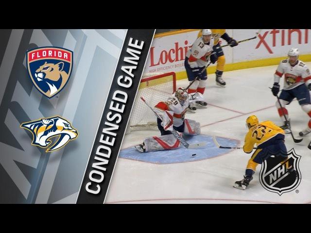 01/20/18 Condensed Game: Panthers @ Predators