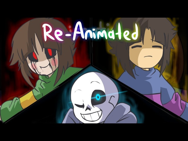 Glitchtale S1 EP1 | Megalomaniac Re-Animated by jakei and superyoumna | ANNIVERSARY SPECIAL