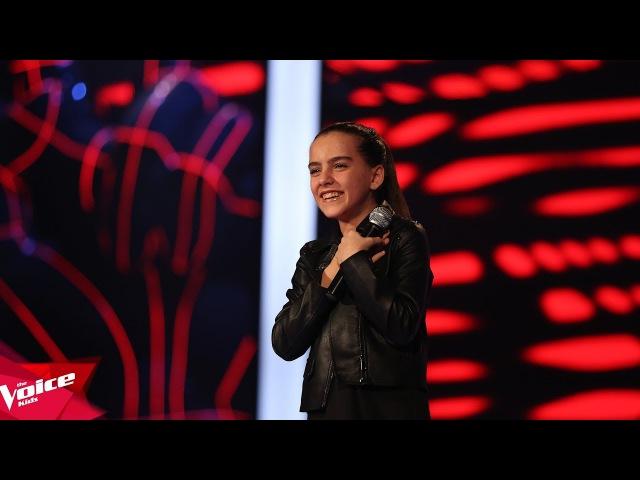 Enxhi - Good luck | Audicionet e Fshehura | The Voice Kids Albania 2018