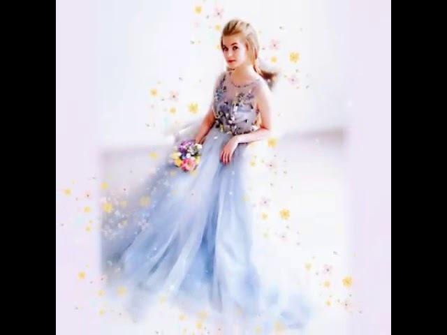 Весенняя коллекция платья и цветы. Фотозарисовка одного платья со съемки