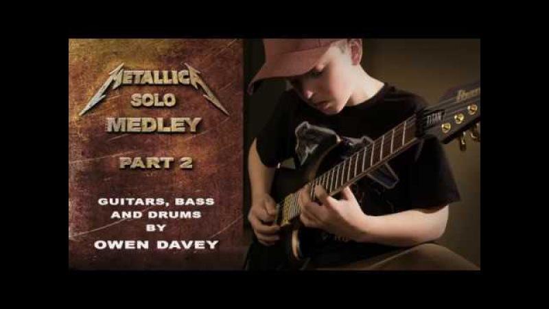 Metallica Solos Medley Pt 2 Multi Instrumental Cover