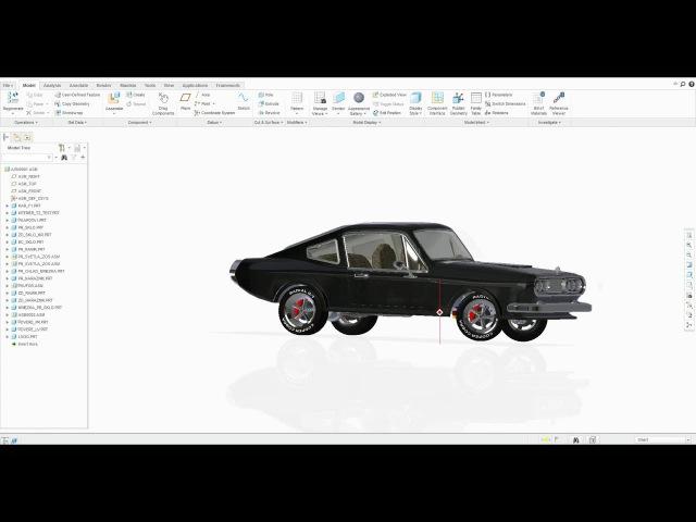 PTC Creo Parametric 3.0 Project Presentation by Nevicky