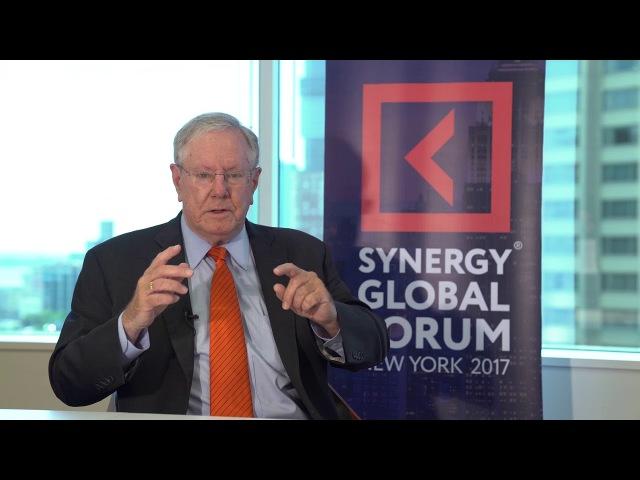 Университет СИНЕРГИЯ | Стив Форбс | Интервью для SYNERGY GLOBAL FORUM 2017