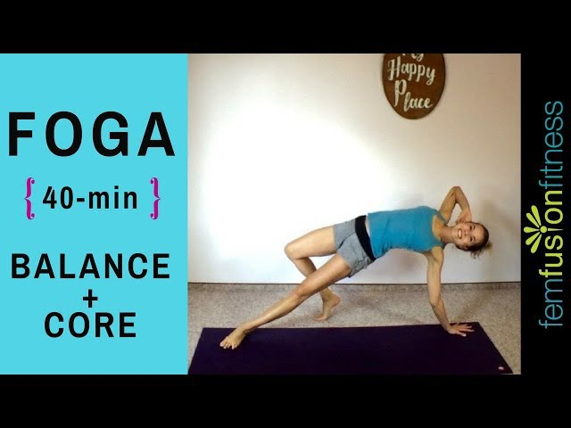 Core Foga for Balance! Surf and SUP (All Levels)