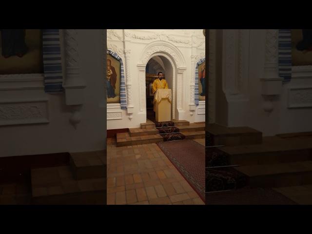 Іподиякон Ярослав. Проповідь на страсне Євангеліє.