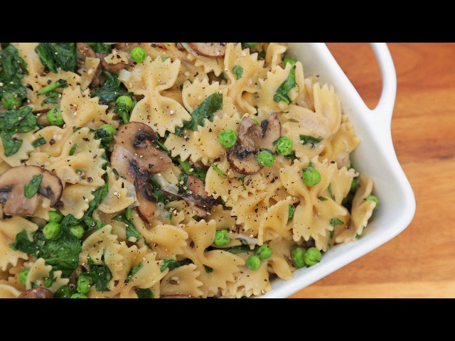 One Pot Creamy Mushroom Pasta | Easy Weeknight Dinners