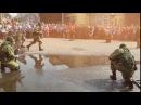 Показательные выступления разведроты 79й мотострелковой бригады в день танкист...