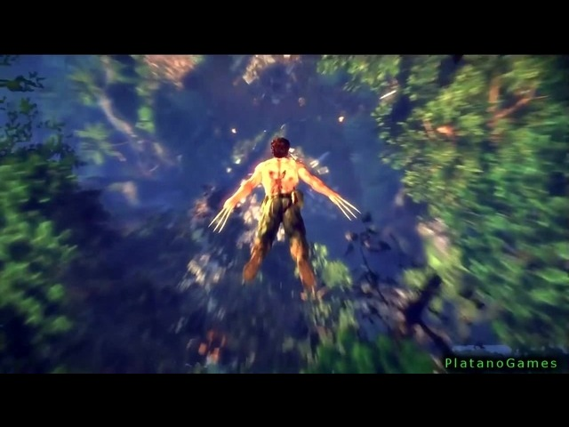 The Wolverine Uncaged Story Part 1 Jungle X Men Origins Videogame HD