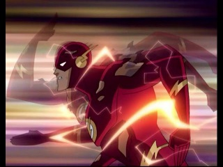 The Flash At His Fastest Speed (Flash Vs Brainiac-Luthor)