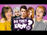 DO TEENS KNOW 2000s POP PUNK MUSIC #2 (REACT Do They Know It)
