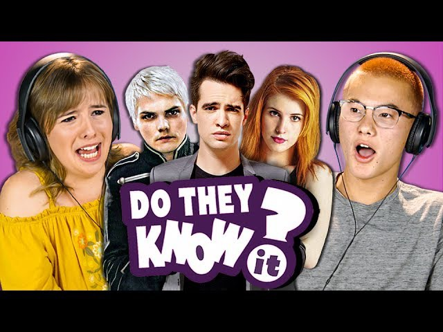 DO TEENS KNOW 2000s POP PUNK MUSIC 2 (REACT Do They Know It)