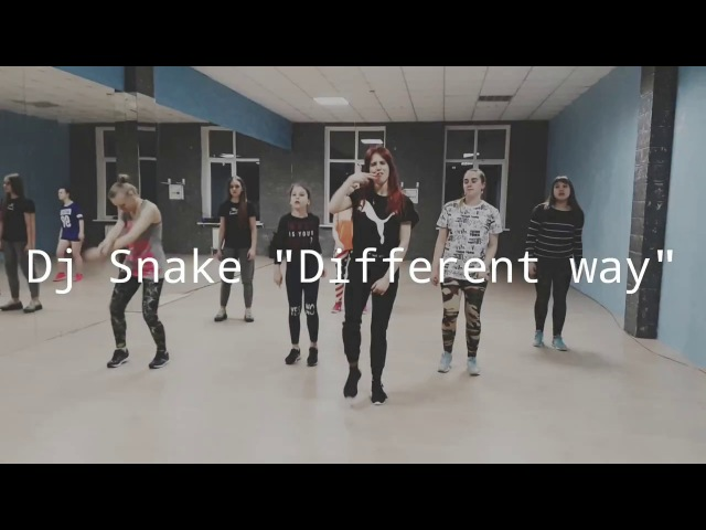 Dj Snake A different Way warm up choreography simple dance