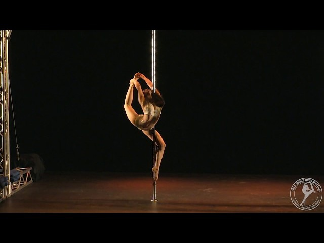 2017 PSO U.S. National Pole Bronze Medalist, Renee Wu