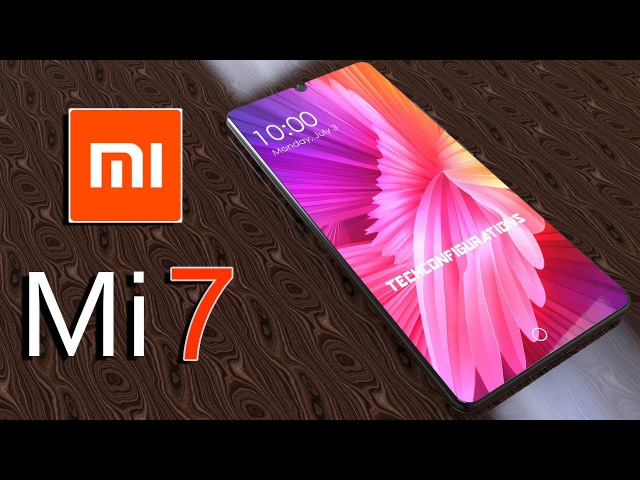 Mi 7 Introduction,with 18:9 Aspect ratio 97% Screen to Body ratio ,The Xiaomi Flagship 2018