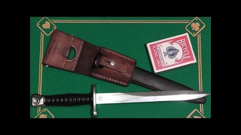 Швейцарский штык нож к винтовке Stgw 57