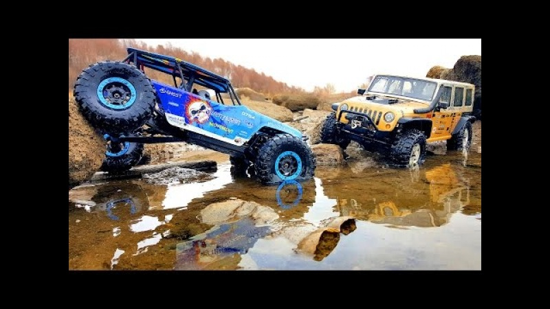 Axial SCX10 Jeep Rubicon vs WLtoys Wild Track — RC Cars OFF Road 4x4 Adventure — RC Extreme Pictures