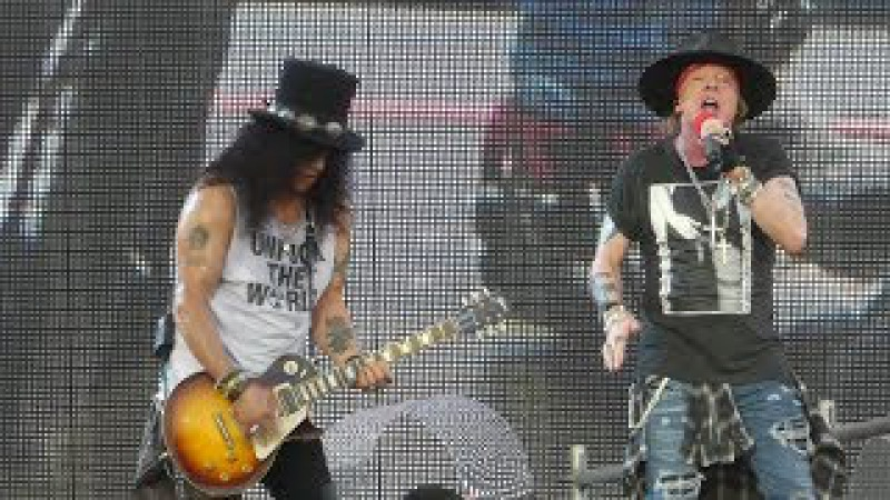 Welcome to the Jungle Guns N Roses@Hersheypark PA Stadium 8/13/17