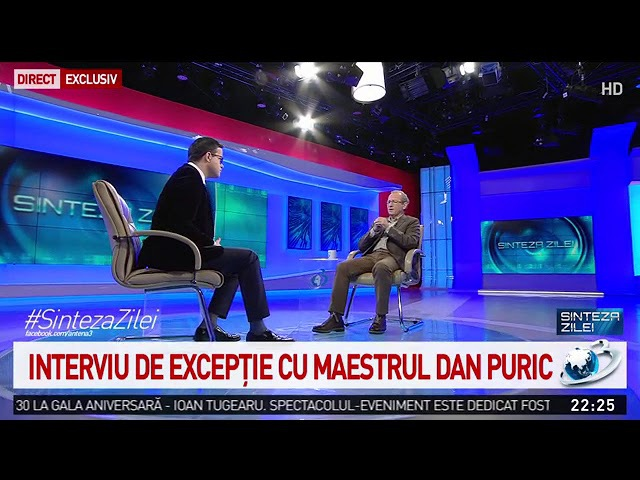"""Dan Puric """"Țara trebuie să se ridice împotriva nepăsării"""""""
