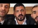 GATTUSO DICE FORZA INTER IN CINESE - INTERVISTA DELLE IENE