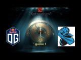 The International 2017 Newbee vs OG Day 2 Game 1