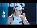 Magda Linette v Daria Kasatkina match highlights (2R) | Australian Open 2018