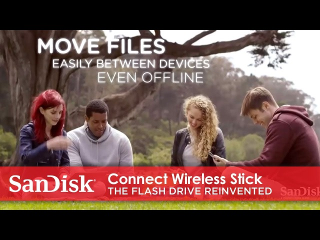 SanDisk® Connect Wireless Stick | The Flash Drive Reinvented
