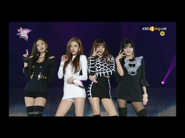 BLACKPINK - INTRO '마지막처럼 (AS IF IT'S YOUR LAST)' in 2018 Seoul Music Awards