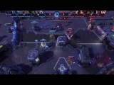 Heroes of the storm 37#mrrrbrul (Малтаэль/лига) malthael gameplay(replay)