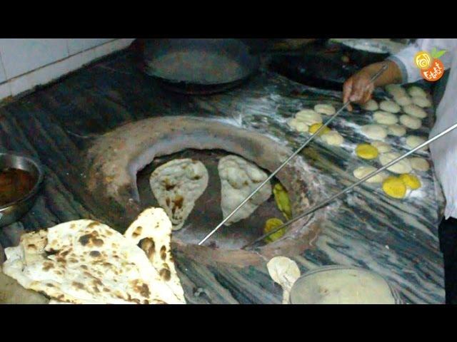Amazing Cooking - Tandoori Roti - Indian Way
