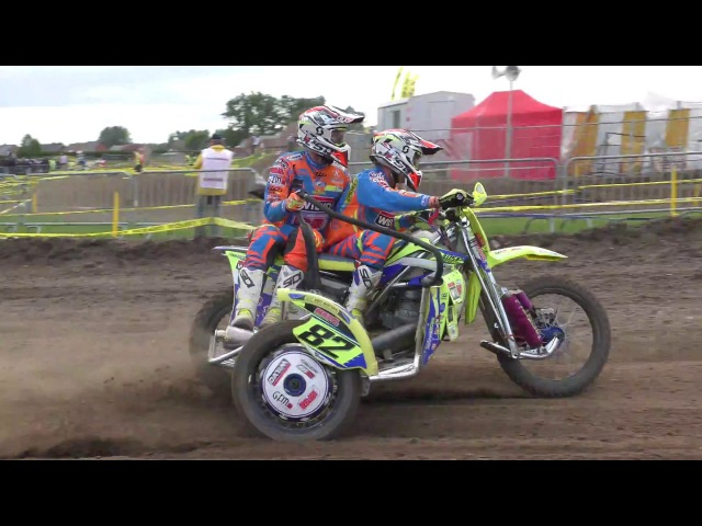 Belgian Championship Sidecarcross at Hasselt 2017