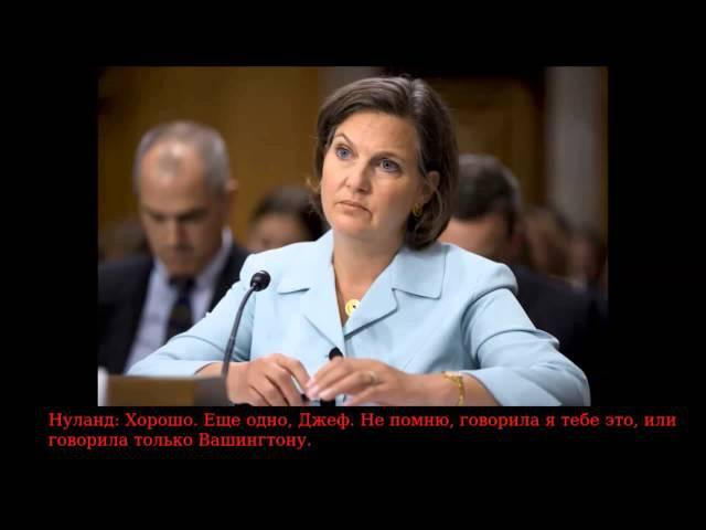 Разговор Нуланд и посола США в Украине (2014)