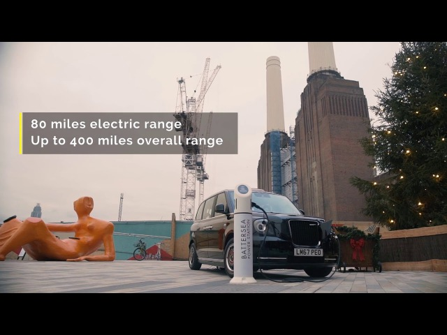 The TX electric taxi now fully certified to carry fare-paying passengers in London