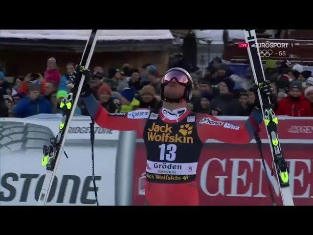 Aksel Lund Svindal - DH Val Gardena 2017