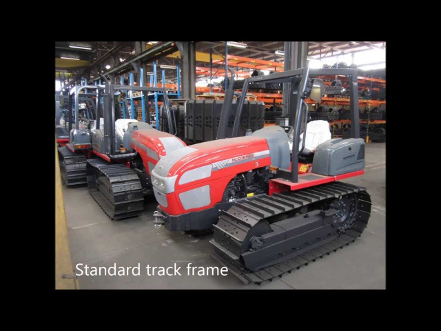 McCormick T90 tracked tractor conversion