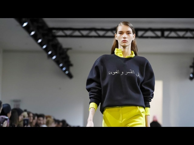 Noon by Noor   Fall Winter 2018/2019 Full Fashion Show   Exclusive