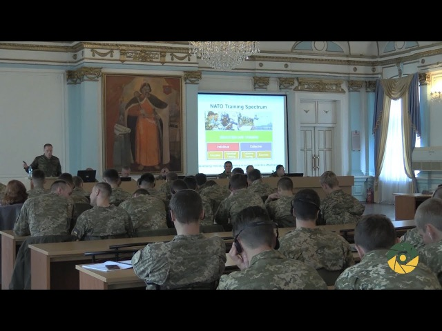 Представники НАТО в Одеській Військовій академії