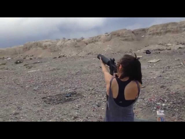 X-Products AR15 Can Cannon Soda Launcher supercut - with Skeet shooting