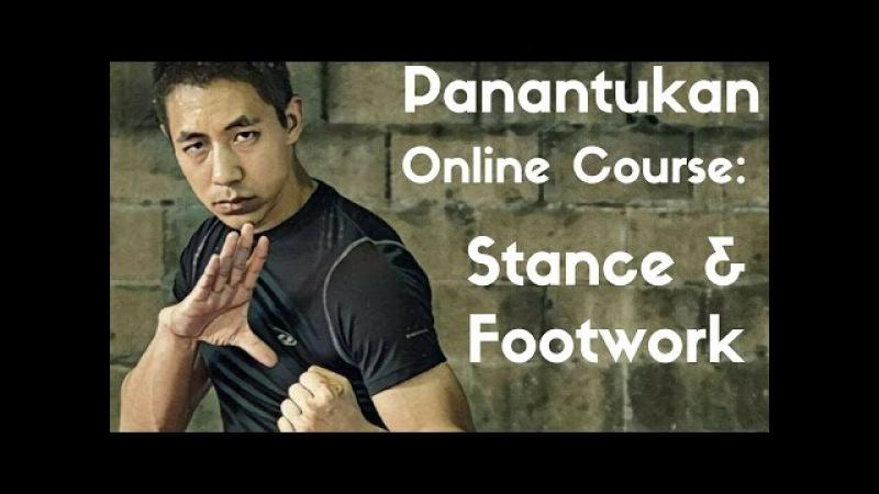 Panantukan OLC Stance Footwork