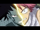 fairy tail amv - natsu vs gajeel [down with the sickness]