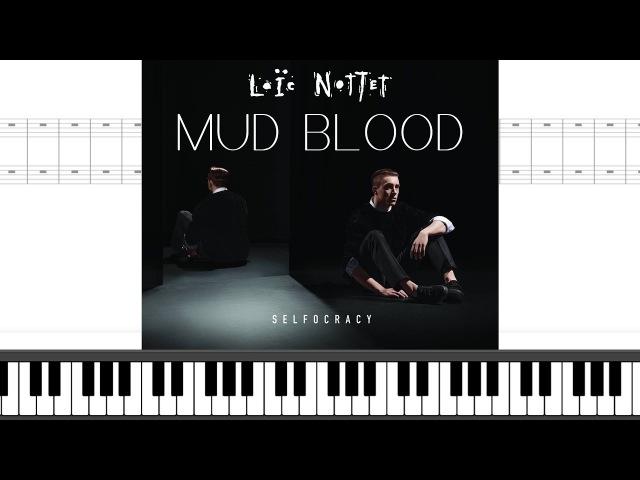 Loïc Nottet - Mud Blood | Piano Sheet Music Lyrics Chords