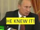 Putin predicted Syrian war, but no-one heard him