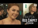 Lady Macbeth's Florence Pugh BAFTA Awards 2018 Red Carpet Interview