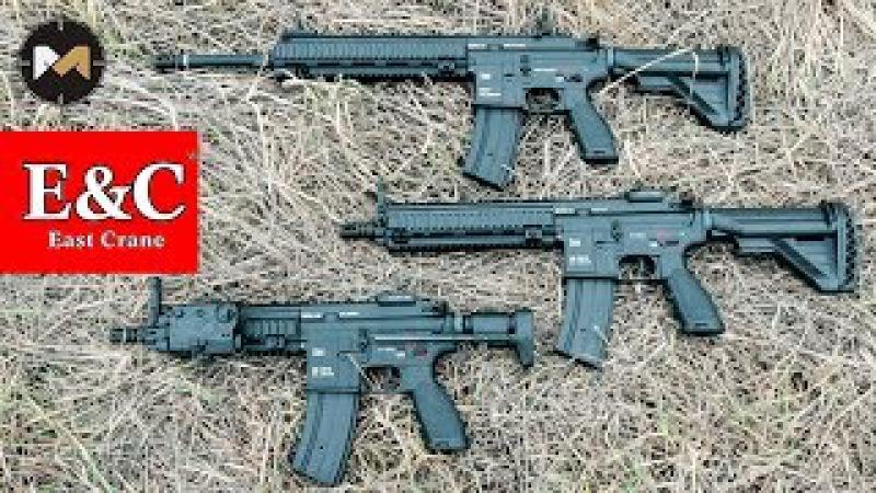 Страйкбольные M27 IAR, HK416D и HK416C с боевыми маркировками от EC (East Crane)