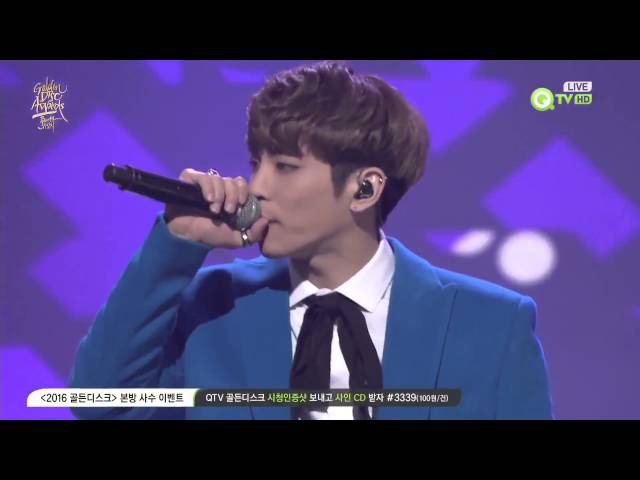 HD Jonghyun SHINee Golden Disk Awards 2016 Performance Crazy Guilty Pleasure Deja boo