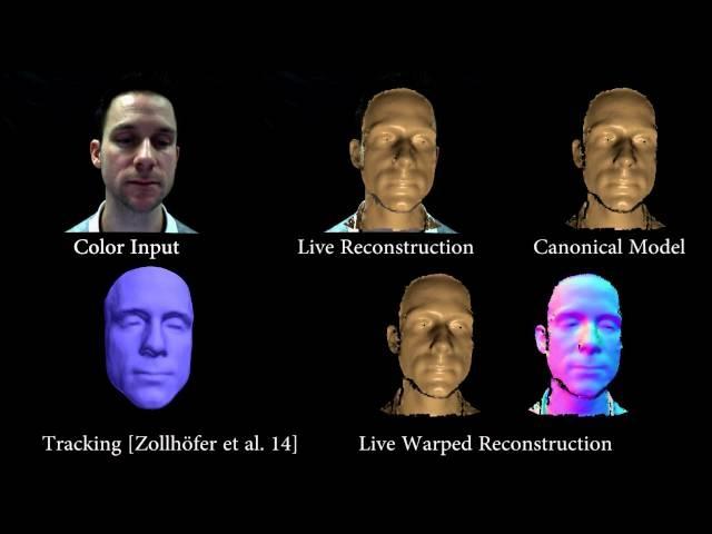 VolumeDeform: Real-time Volumetric Non-rigid Reconstruction (ECCV 2016)