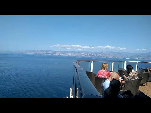 Золотая конференция-2017. Круиз на лайнере. Вид на Средиземное море